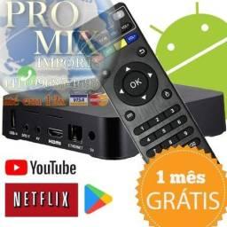 Mxq pro 4k - Transform Sua Tv Em Smart 4k Pro 2 Gb/16gb Teste 30 Dias Entrega Free