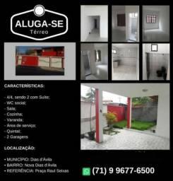 Casa disponível para aluguel em Nova Dias d`Ávila