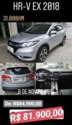 Honda HRV 1.8 EX Muito novo!Super Oferta! - 2018