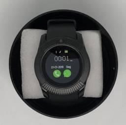 Relógio Inteligente Smartwatch V8 Android Bluetooth Chip Novo na Caixa