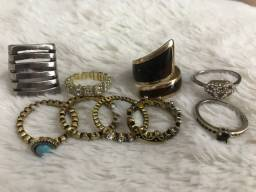 Kit anéis diversos