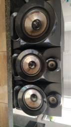 Caixas de som, Mini System PHILCO.