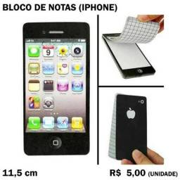 Bloco de Notas - Celular iPhone