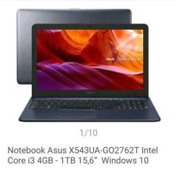 "ASUS i3 4GB - 1TB 15,6"" ZERO LACRADADO"