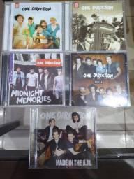 Coleção CDs e DVD One Direction