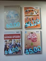 Vendo jogos de Nintendo Wii