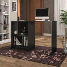 Escrivainha mesa de computador Modelo Solid cor preto