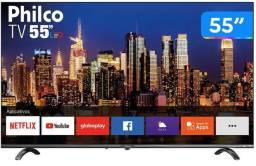 Smart TV 4k UHD D-LED 55 -  Philco - Caixa lacrada e NF