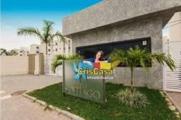 Apartamento com 2 dormitórios à venda, 50 m² por R$ 168.000,00 - Atlântica - Rio das Ostra