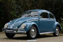 Fusca 1300 1968 Azul Real - Um espetáculo em detalhes! Vale conferir! Ateliê do Carro