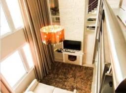 Apartamento Duplex com 1 dormitório à venda, 57 m² por R$ 850.000,00 - Três Figueiras - Po