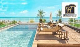 Flat beira mar com 1 dormitório à venda, 17 m² por R$ 284.000 - Bessa - João Pessoa/PB