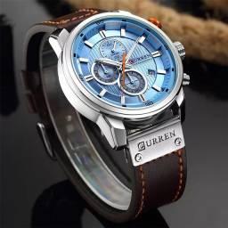 Relógio Curren casual blue importado e original