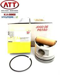 JG de pistão com anel Kia bongo e Hyundai hr até 2012.