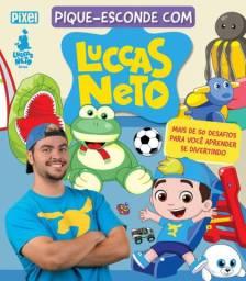 3 Livros ilustrados LUCCAS NETO