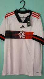 Camisa do Flamengo Branca Masculina 2020/21
