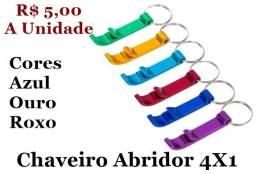 Chaveiro Abridor 4X1