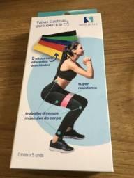 Faixas elásticas para exercício