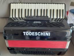 Acordeon Todeschini Super 6 120 baixos