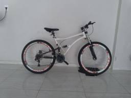 Bike Caloi XRT 26 Full suspension troco ou vendo  (negócio valor)