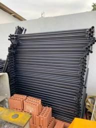 Andaimes tubulares - locações para construção