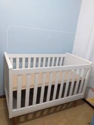 Berço que vira mini cama Carolina Baby