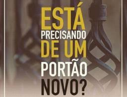 SOB ENCOMENDA PORTÃO GALVANIZADO NOVOS