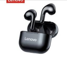 Fone sem fio Lenovo lp40 bluetooth