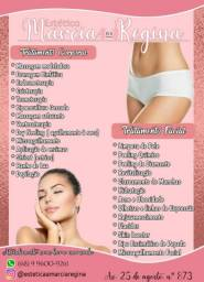 Procedimentos estéticos faciais e corporais