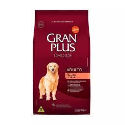 Ração Granplus Para Cães Adultos Choice Frango e carne 20Kg