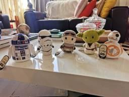 Miniaturas Star Wars pelúcia