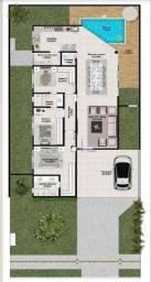 Casa com 3 dormitórios à venda, 150 m² por R$ 599.000 - Terras Alpha Residencial 2 - Senad