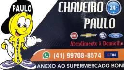 Chaveiro Paulo (automotivo e residencial)