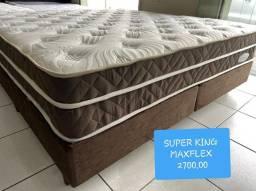 cama box SUPER KING SIZE MAXFLEX