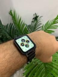 Smartwatch DTX + Pulseira em Aço de Brinde - Novo