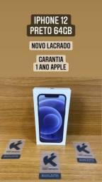 iPhone 12 Novo Lacrado Garantia de 1 ano Apple