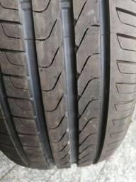Par de pneus novos Pirelli P7 225/55 R17