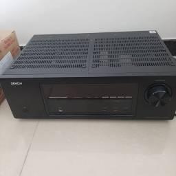 Receptor Denon AVR-1613 5.1 Canal 3D Home Theater AV com rede e Airplay