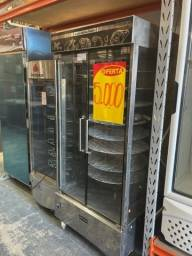 Máquina de assar frango e carne 130kg - JM equipamentos
