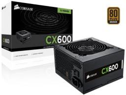 Fonte Corsair CX600