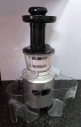 Processador Sucos (centrifuga) baixa rotação e baixo ruído.  Mondial Slow Juicer Premium