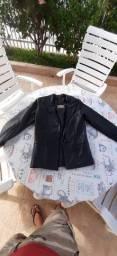casacos em couro legítimo
