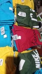 camisas atacado 13,00 reais cada apartir de 10 peças