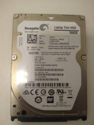 Vendo HD 500GB Seagate para notebook