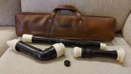 Flauta doce baixo Yamaha