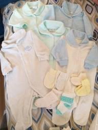 Lote roupas RN e P