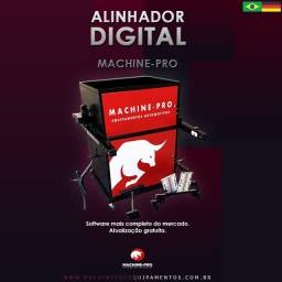 Equipamento Novo | Alinhador Digital | Marca Machine-Pro