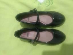 Sapato da molequinha n33