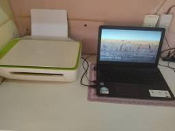 Not book Asus / Impressora HP