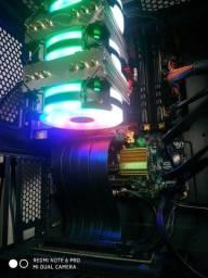 Pc i3 3.7 Ghz 16 gb de ram fonte 400w corsair